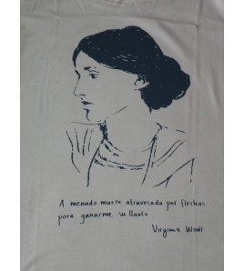 Camiseta Virginia Woolf
